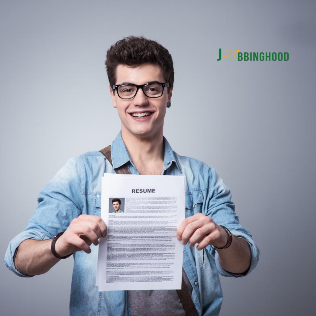 free resume page